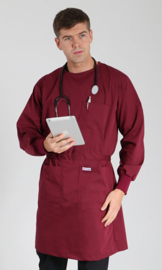 BURGUNDY LAB GOWN – DESIGN YOUR OWN
