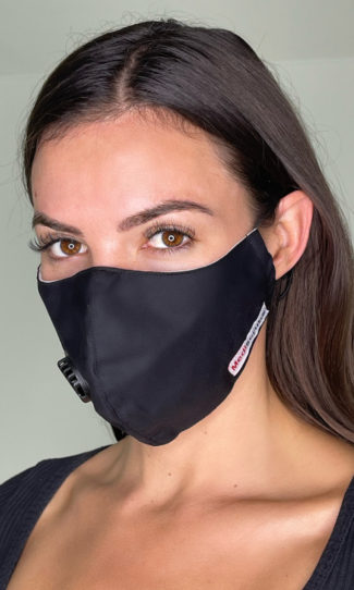 PM2.5 filtered face mask