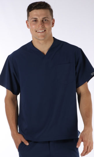 Scrubs Anonymous - Stealth collection - Scrub Top - Midnight Blue