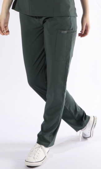 Scrubs Anonymous - Whisper collection - Scrub Pant - forest green