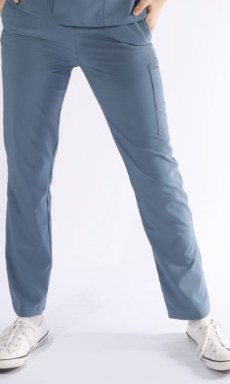 Scrubs Anonymous - Whisper collection - Scrub Pant - Steel Blue